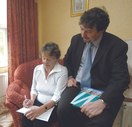 Customers Sign WPH's New Tenancy Agreement