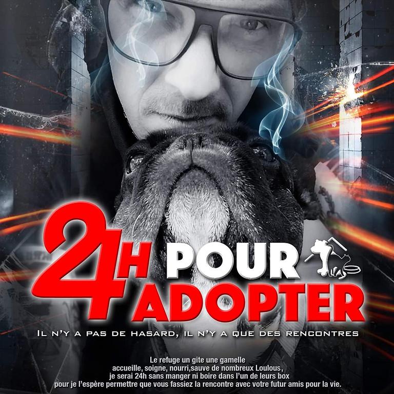 24H POUR ADOPTER