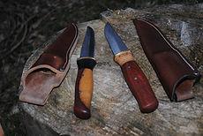 Outdoormesser handgemacht Begleite
