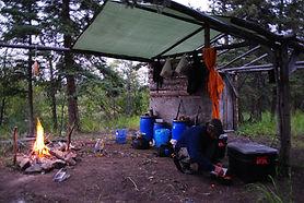 Camp / Buschcamp - draussen zuhause und Leben am Feuer - lässt manches Herz höher schlagen!