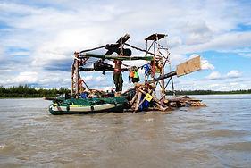 Flossreise auf dem Yukon / Yukon Raft