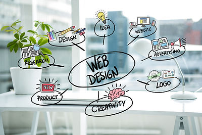web-design-concepts-with-blurred-backgro