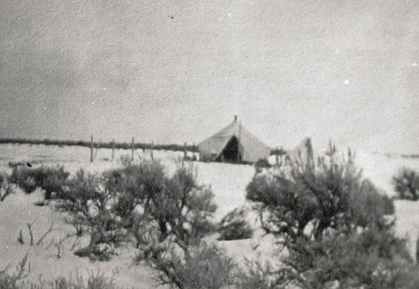 Bell, Park  -  his first home in Montevi