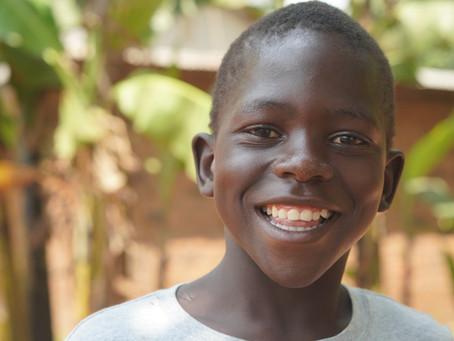 Engagement und Spenden schenken Lächeln