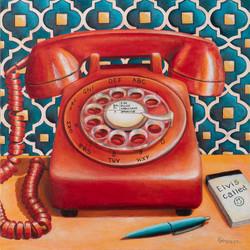 Phone Elvis Called (instagram size)