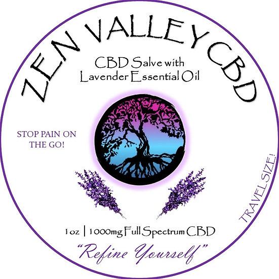 1oz  Salve 1000MG -Lavender