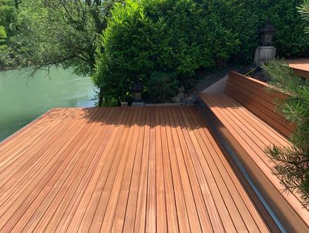 Holzbau Ott Terassenboden Sitzfläche