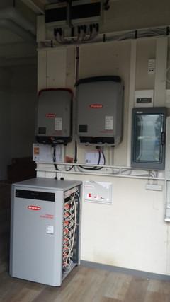 Wechselrichter mit Batteriespeicher