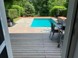 Holzbau Ott Terassenboden mit Pool