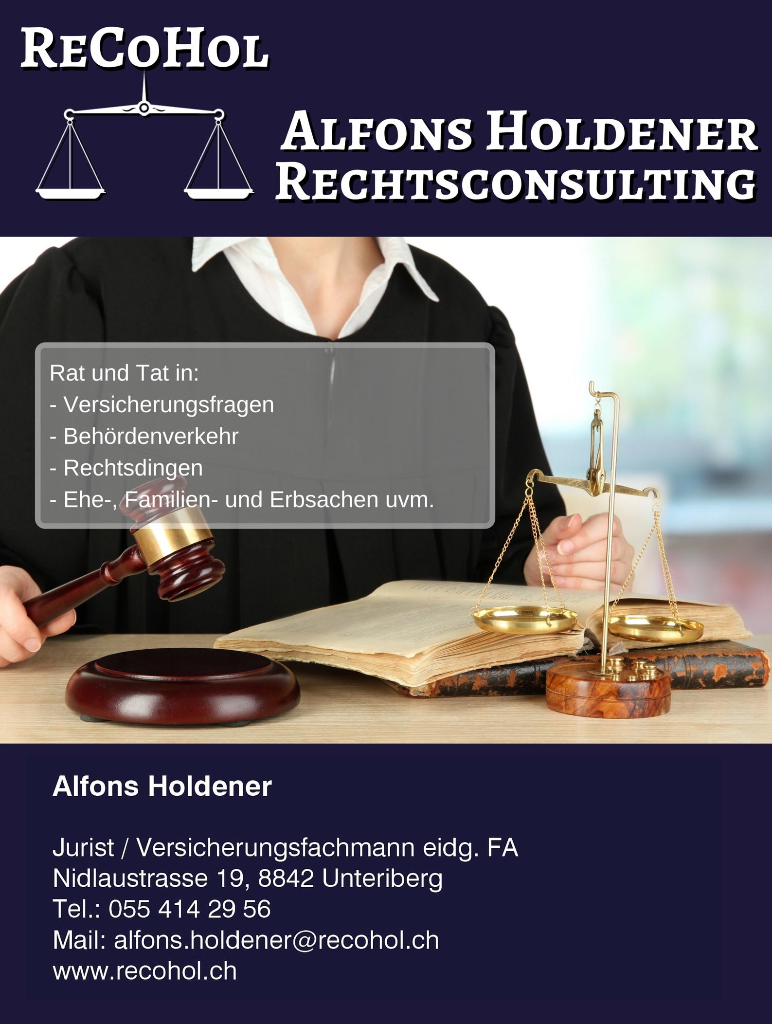 Türschild für Rechtsberater
