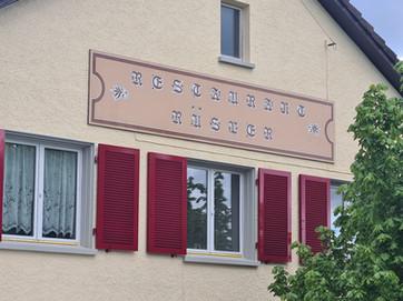 Neues Logo Restaurant Rüsler