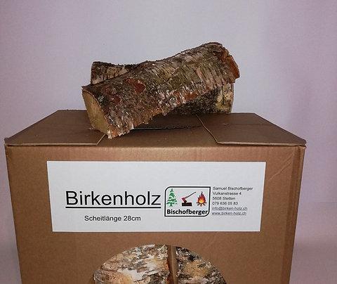 Aktion Birkenholz in Kisten (10 Kartons)