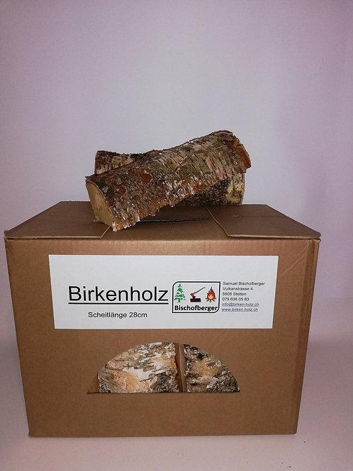 Aktion Birkenholz in Kisten (20 Kartons)