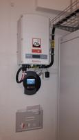 Wechselrichter in Wohnhaus in Wädenswil