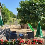 Spielplatz und Lounge