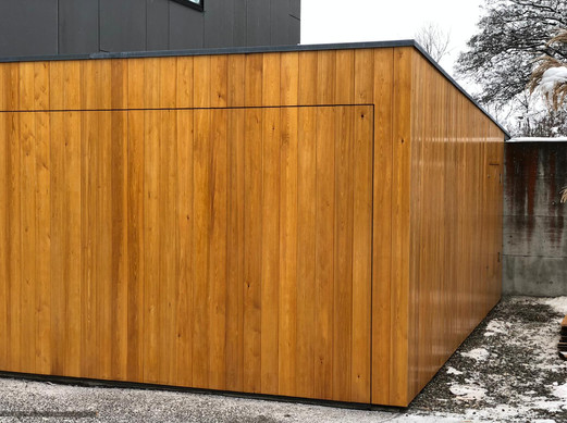 Holzbau Ott Holz-Fassade