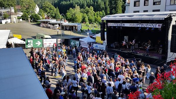 Musikfest Einsiedeln Sponsorenpräsenz
