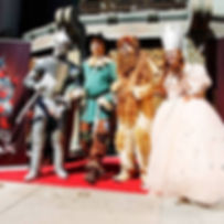 The Spirit of Oz at the Chinese Theatre in Hollywood