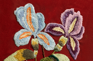 floral embroidery by fiachic