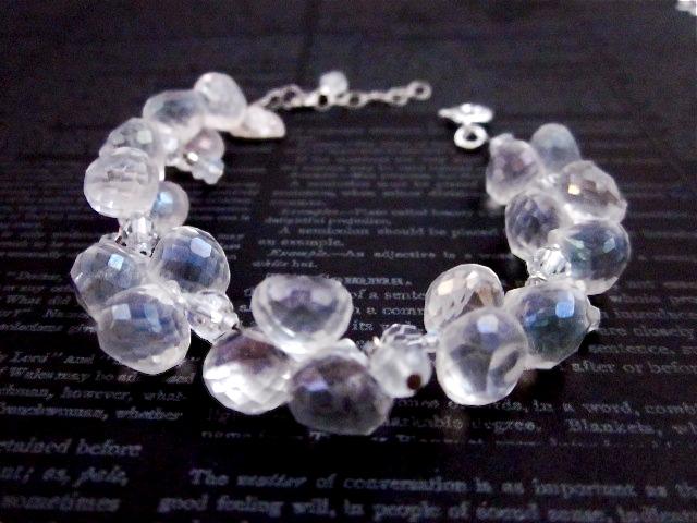 AB crystal bracelet