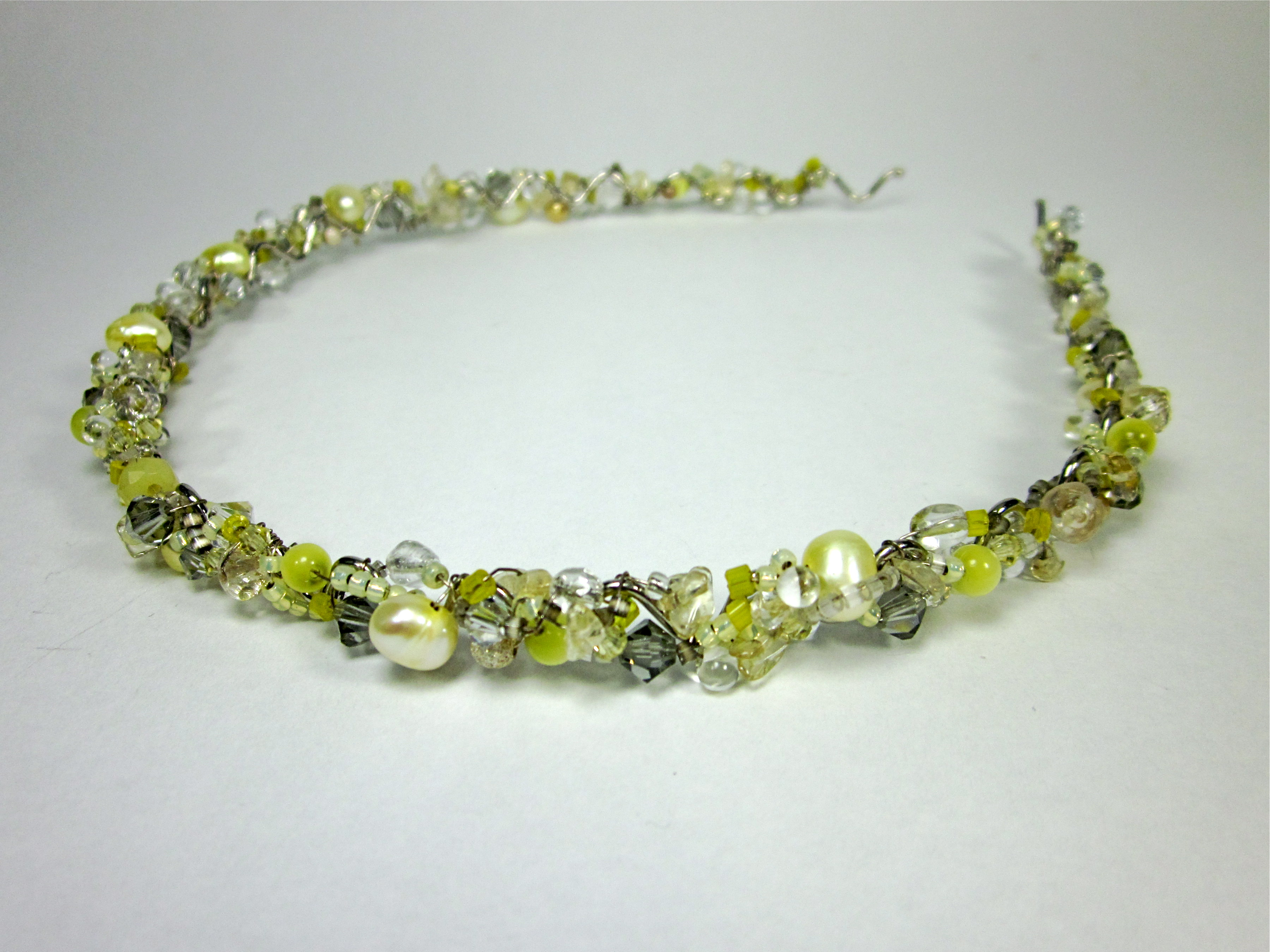 Yellow Gemstone Head Band