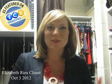 Elizabeth's closet, Oct 3rd 2012