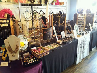 Camba Jewelry trunk show at the Edina Art Fair