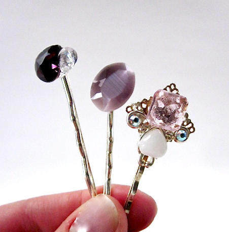 Embellished Hair pins