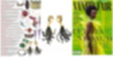 jewelry in magazines, magazine style, women's jewelry, new jewelry, popular jewelry, tassel earrings