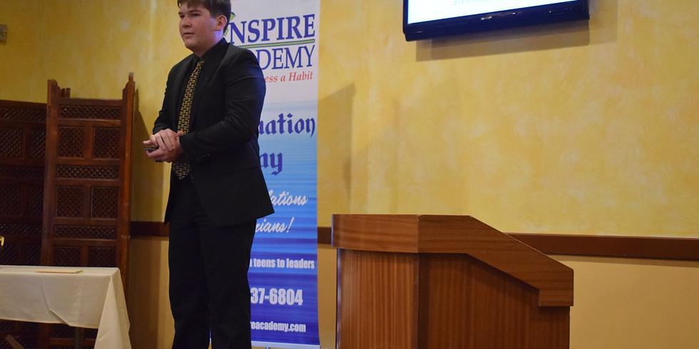 Virtual Graduation Winter 2021 - Level 2: Emerging  Speaker