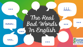 The Real Bad Words In English