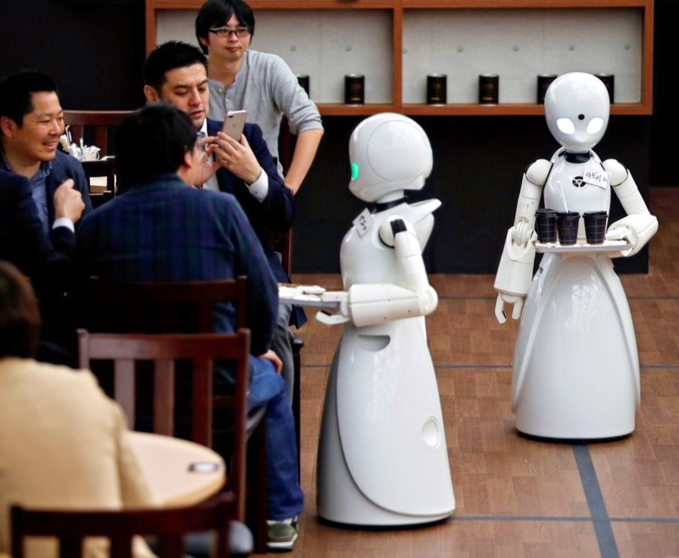 a restaurant in China is using only robots to act as waiters to take orders and serve food. While this may seem like a major accomplishment, it resulted in a loss of jobs at that restaurant. This will require changes to programs to prepare our economy as well as helping current workers transition to new positions that will require the unique human capabilities and characteristics they possess.