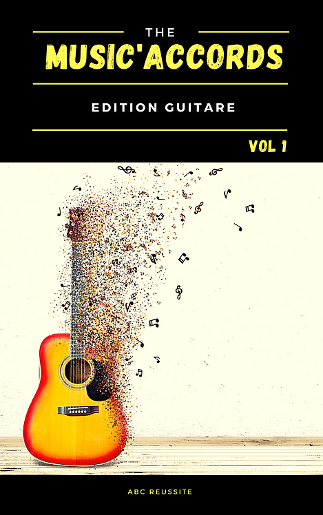 MUSIC'ACCORDS Edition Guitare Vol 1
