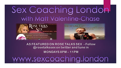 Sex Coaching London Rose Talks Sex for S