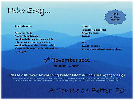 Sex Course London