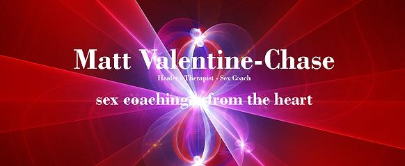 Matt Valentine-Chase Sex Coach London Logo