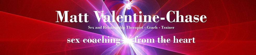Sex Coaching In London and Manchester With Matt Valentine-Chase Website Logo