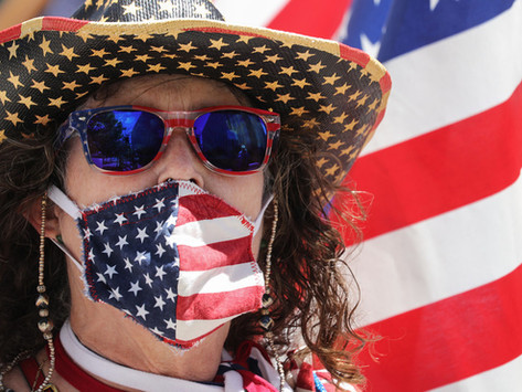 It's a mask, not a flag! CULTURE WARS around Covid-19 protection are shameful