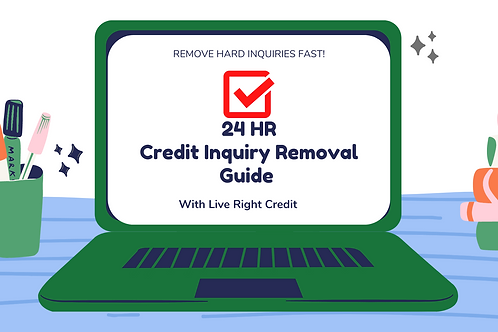 24 HR Inquiry Removal Guide