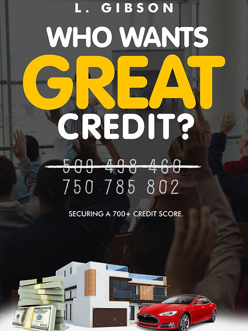 EBook: Who Wants GREAT Credit?