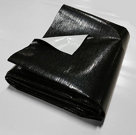 14-mil Black White PE Pond Liner