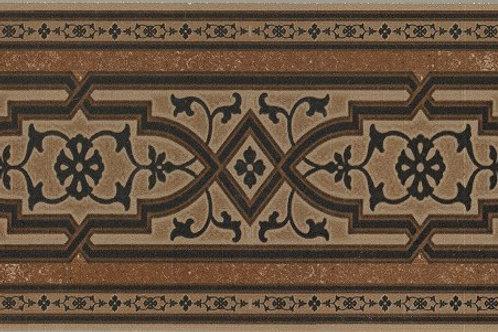 Koblenz Brown декорированный подступенок