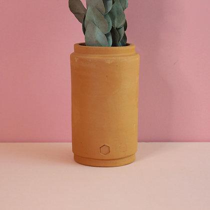 vaso de barro alto P