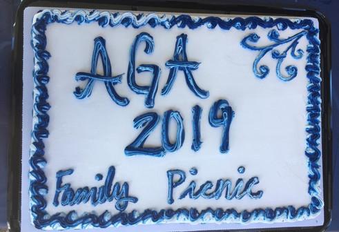 AGA Family Picnic Cake