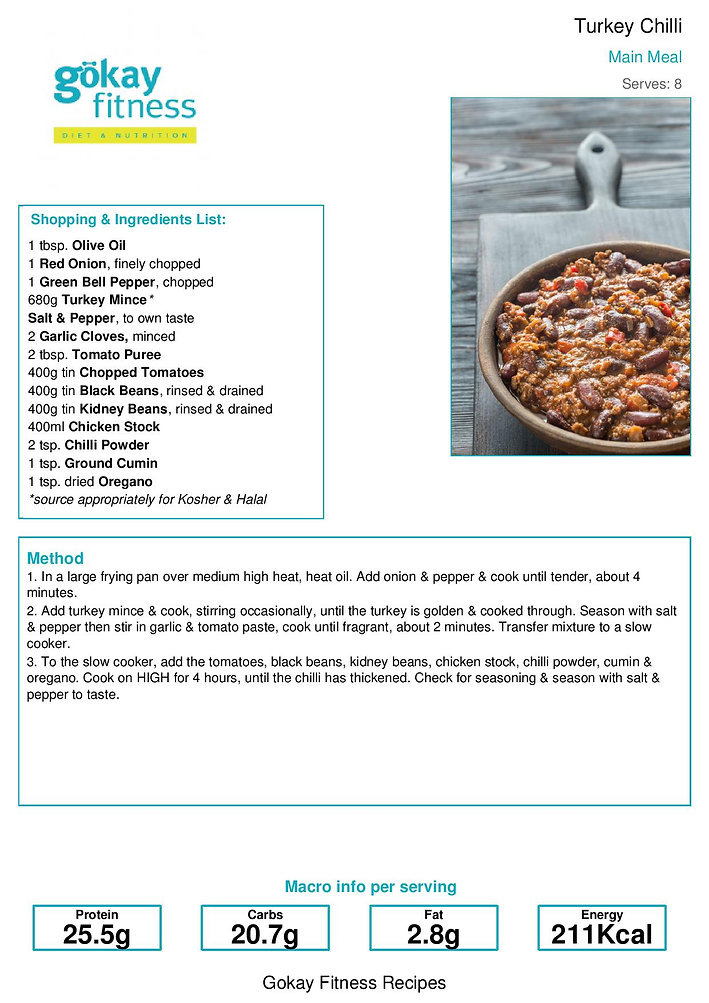 Gokay Fitness Recipe Weekend Breakfast Bake