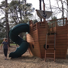 pirate park whispering pines