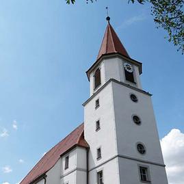 2687_1KEIM Soldalit 教会 in Ehingen, Germa