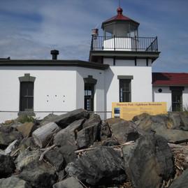 ワシントンホテル州 ウェストポイント灯台.JPG