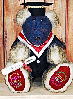 Memory Bear for a Graduation gift