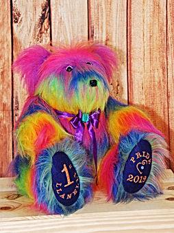 Memory Bear Llanelli pride